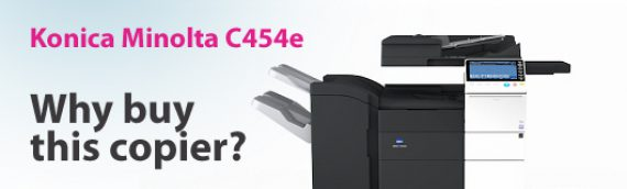 Konica Minolta C454e: Why buy this copier?